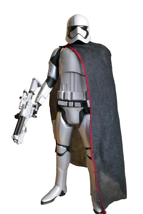 Captain Phasma, Star Wars, Trooper, Sci-fi, Space