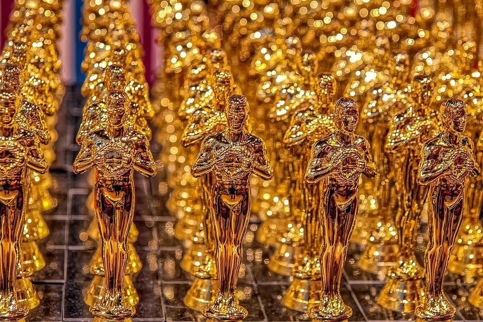 Oscar, Cup, Trophy, Gold, Golden, Gloss, Award, Winner