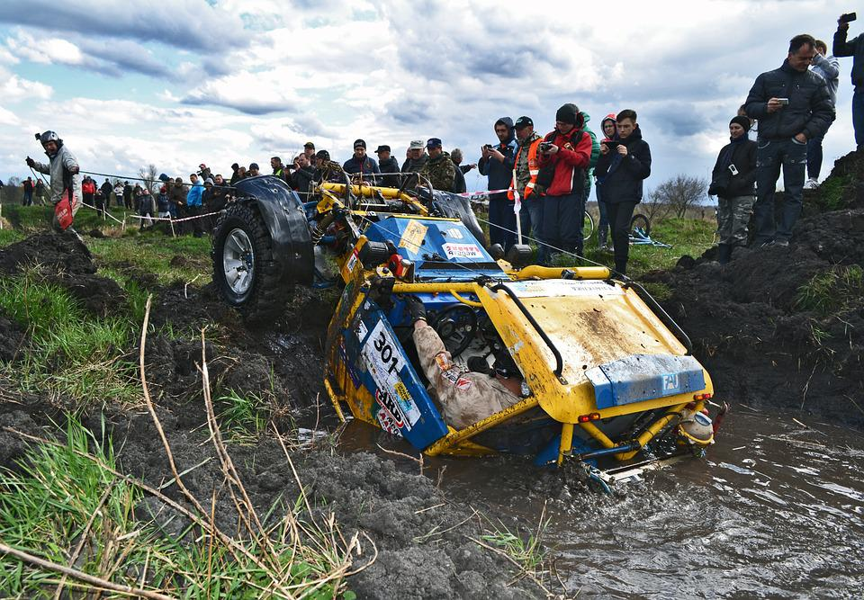 Sports, Trophy, Victory, Championship, Off Rod, Mud