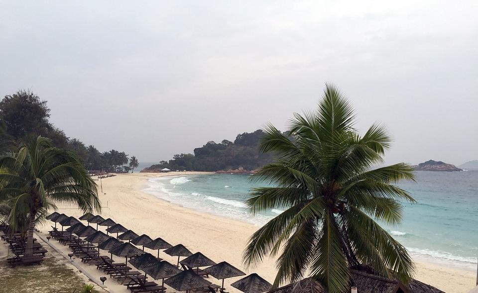 Redang Island, Tropical Beach, Beach, Ocean, Sea