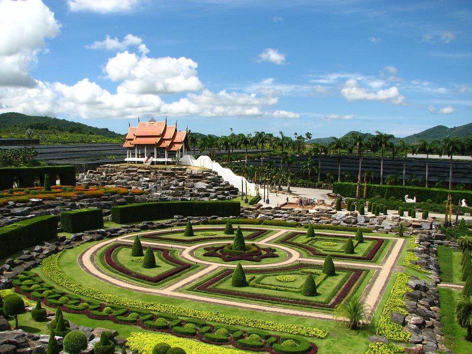 Nong Nooch, Tropical Botanical Garden, Thailand