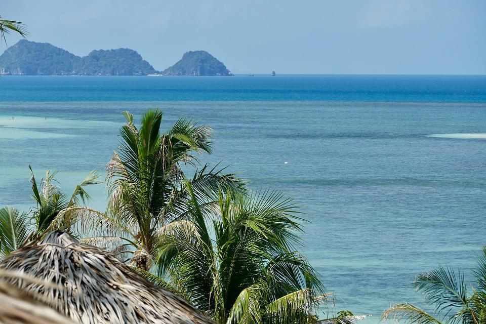 Tropical, Beach, Sand, Coast, Travel, Summer, Island