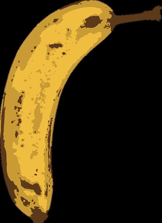 Banana, Fruit, Tropical