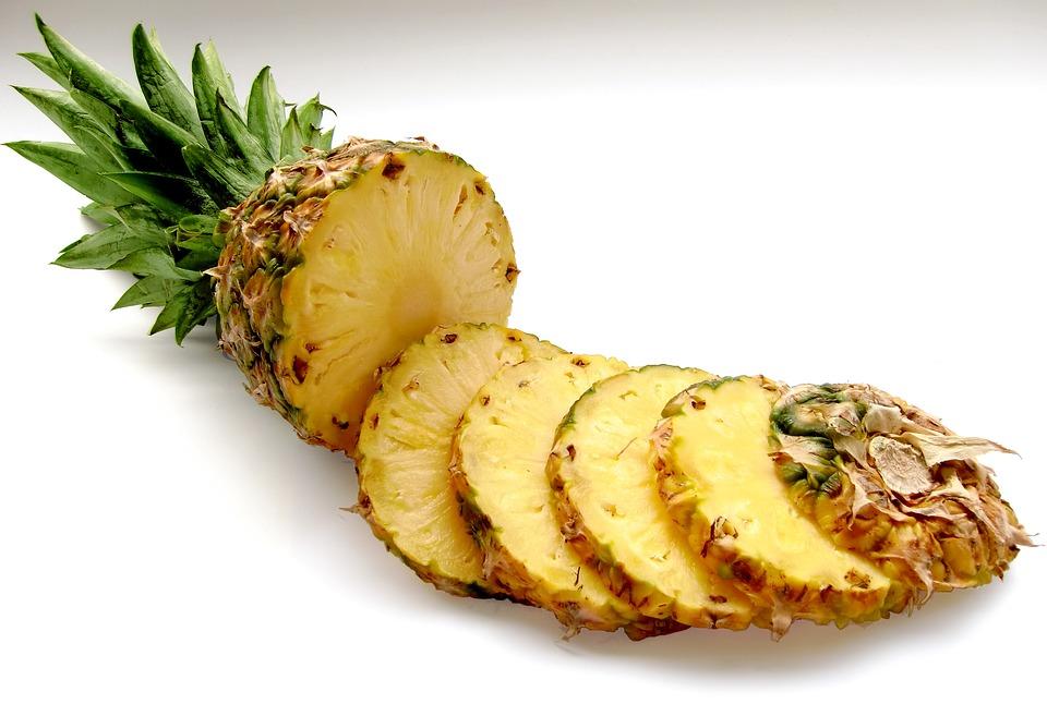 Pineapple, Fruit, Vitamins, Tropical Fruit