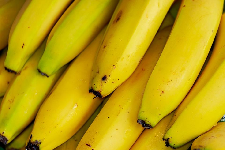 Bananas, Tropical Fruits, Fruit, Exotic, Healthy