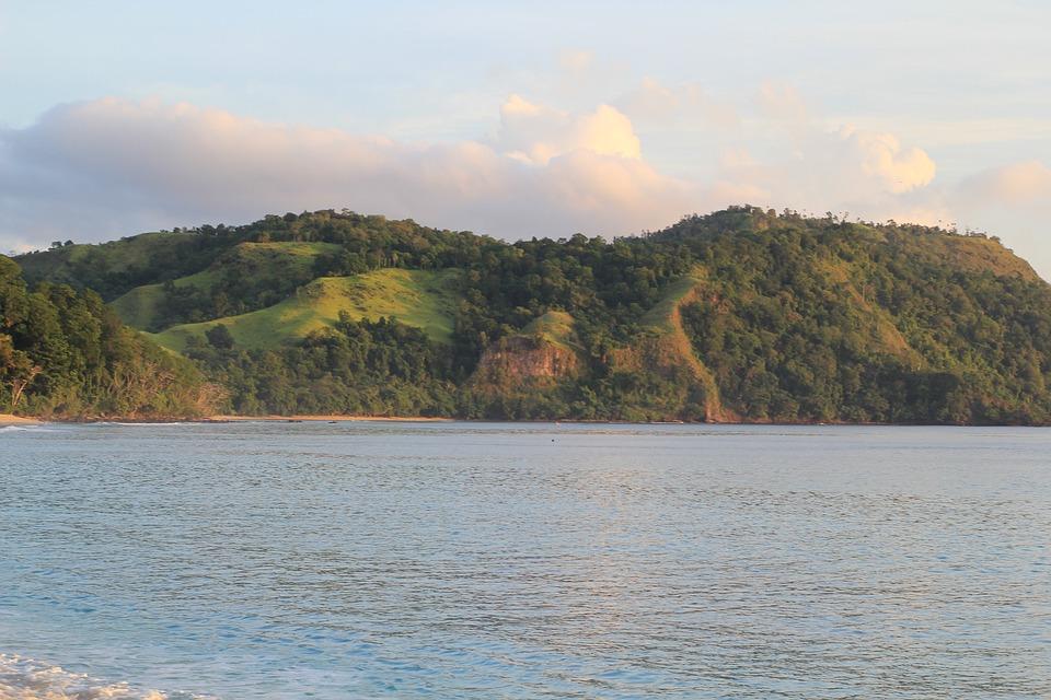 Beach, Sea, Landscape, Coast, Tropical, Indonesia