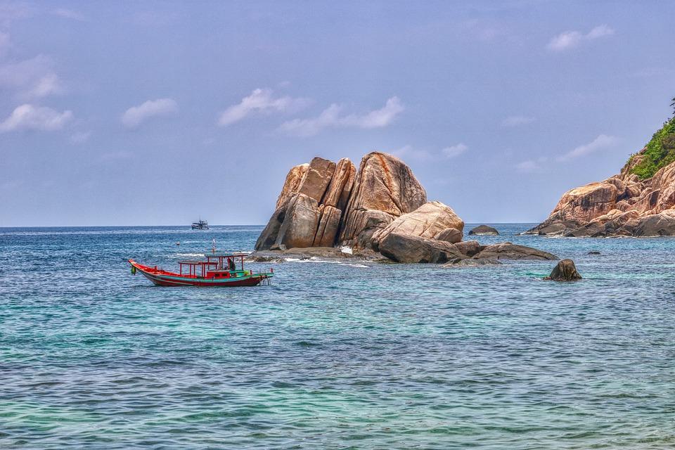 Coast, Tropical, Tanote Bay, Thailand, Landscape