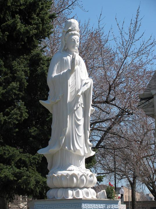 Kwan Yin Statue, Truc Lam Buddhist Temple, Chicago