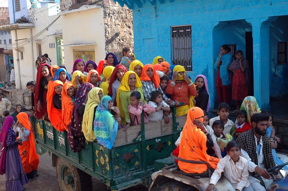 India, Pepale, Civilization, Truck, Fool