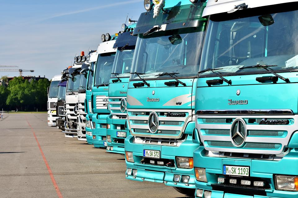 Truck, Commercial Vehicle, Mercedes, Transport, Vice