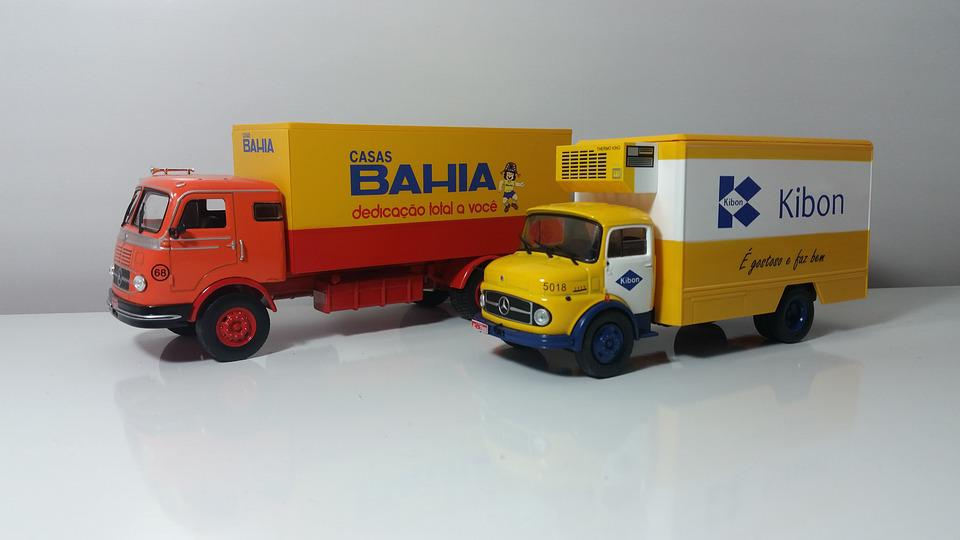 Toy, Truck, Miniature, Automobile