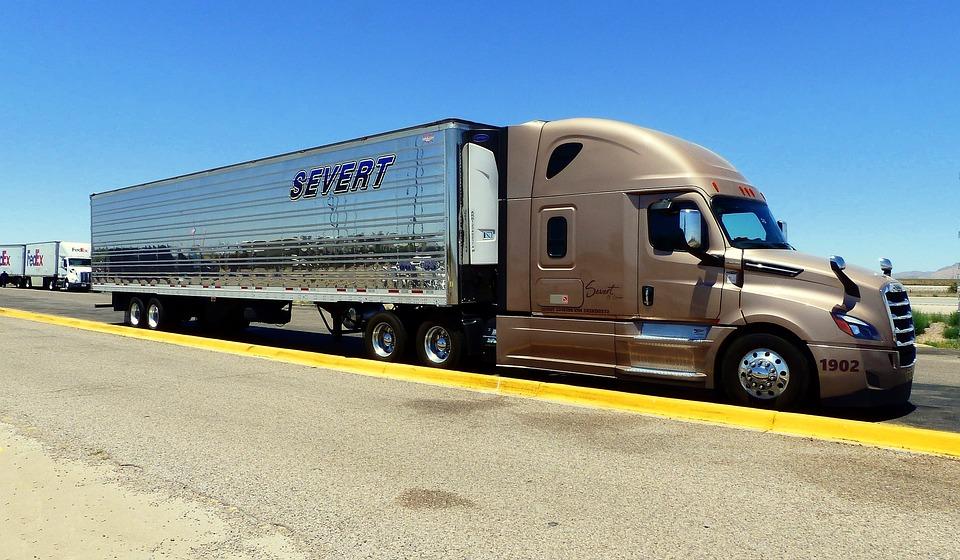 Truck, American, Transport, Vehicle, Classical, Traffic