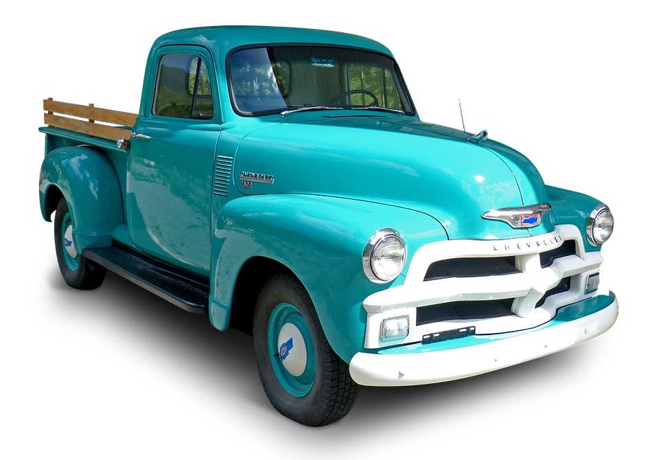 Truck, Pickup, Vehicle, Vintage, American, Classic
