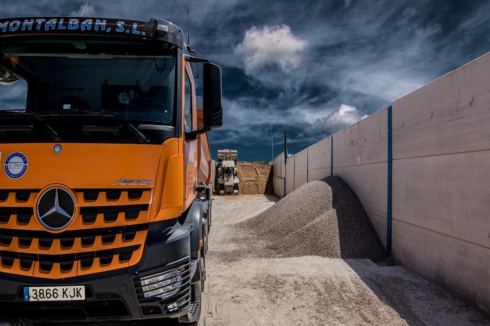 Machinery, Machine, Construction, Trucks, Charger