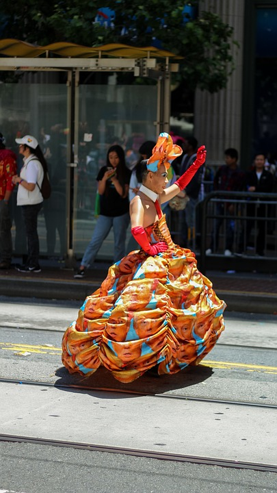 Parade, Transsexual, Trump Dress, Pride, Transgender