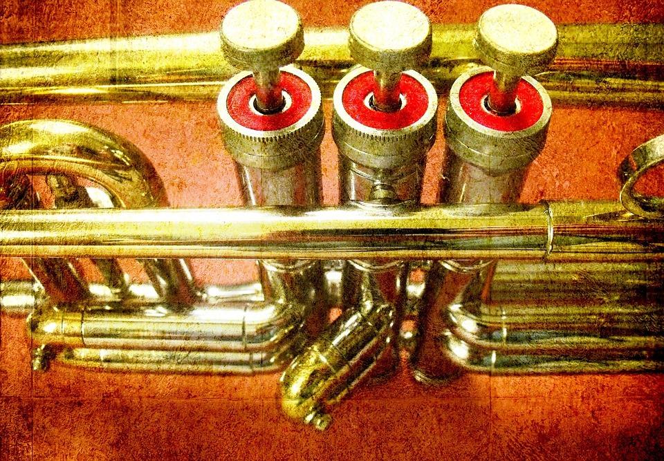 Trumpet, Musical Instrument, Music, Horn, Tune, Sound