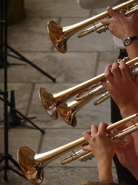 Trumpet, Trumpet Player, Music, Musician, Concert