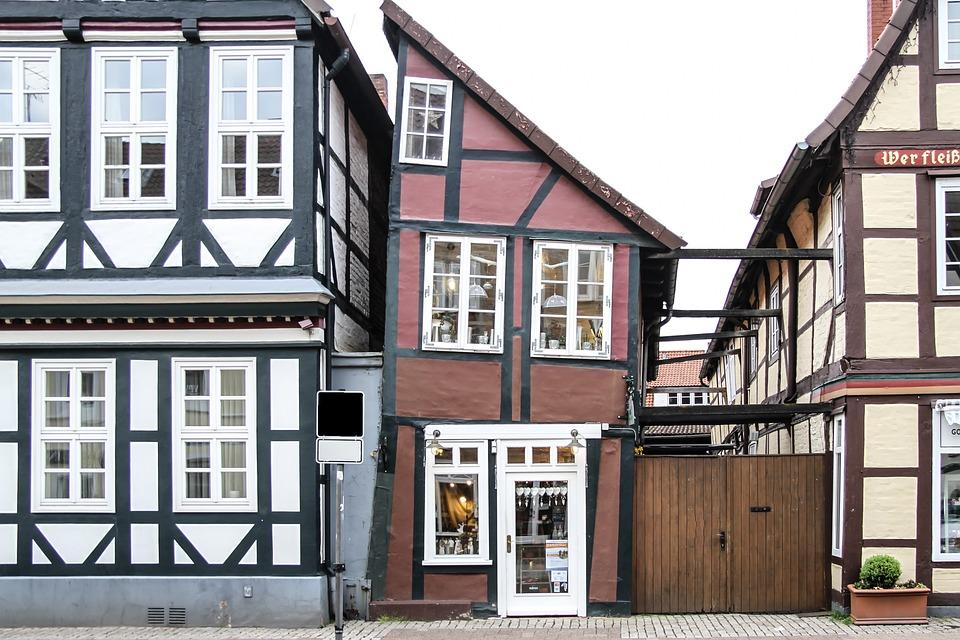 Truss, Fachwerkhaus, Celle, Architecture, Old Town