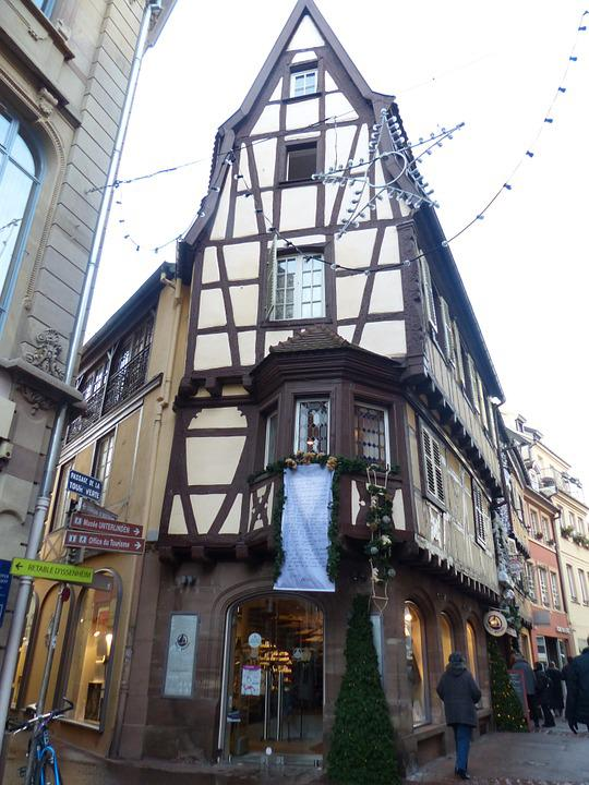 Old Town, Colmar, Truss, Picturesque