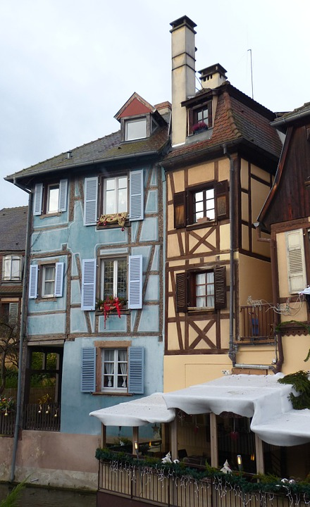 Old Town, Colmar, Truss, Winding