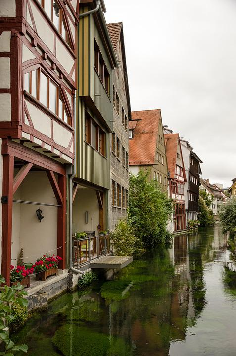 Ulm, Germany, Facade, Places Of Interest, Truss