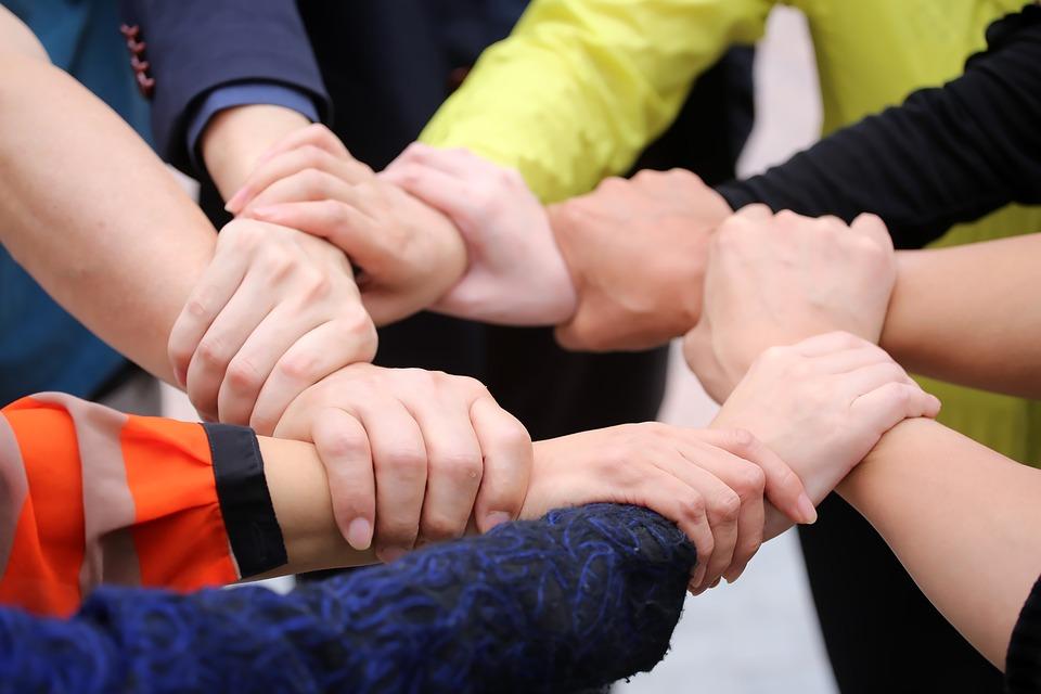Unity, Cooperation, Trust, Hand, Keep, Teamwork