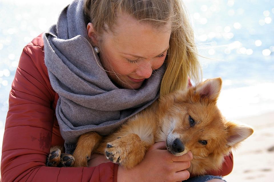 Together, Joy, Sammhörighet, Friends, Trust, Woman, Dog