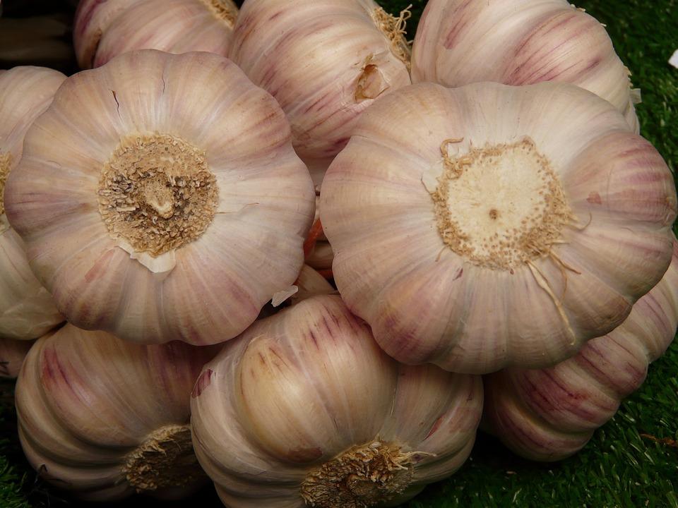 Garlic, Tuber, Substantial, Smell, Eat