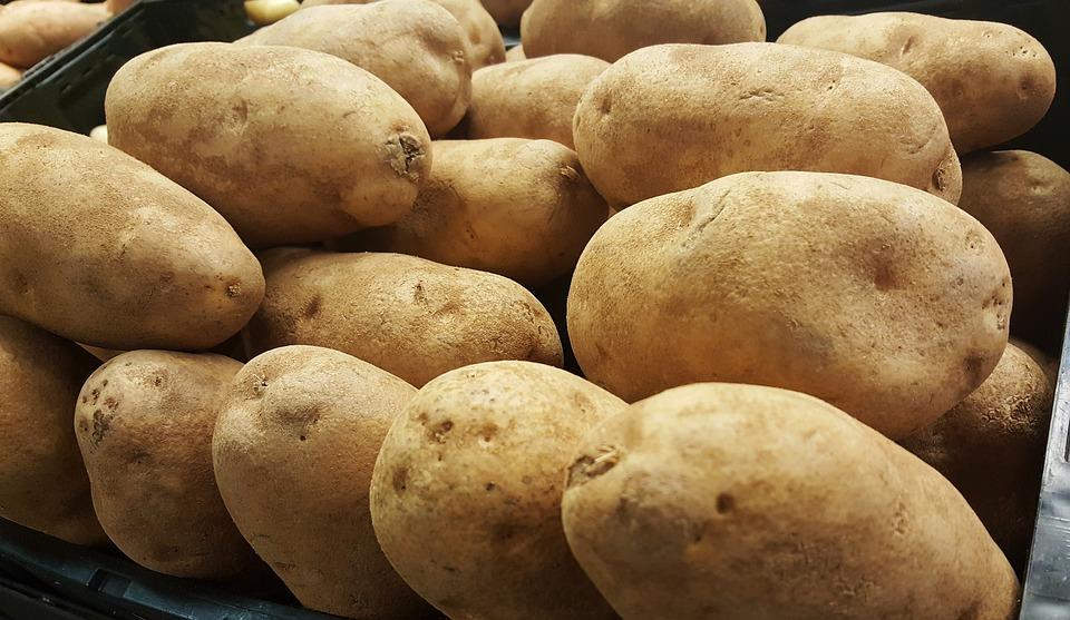 Potatoes, Tubers, Russet, Idaho, Potato, Vegetable