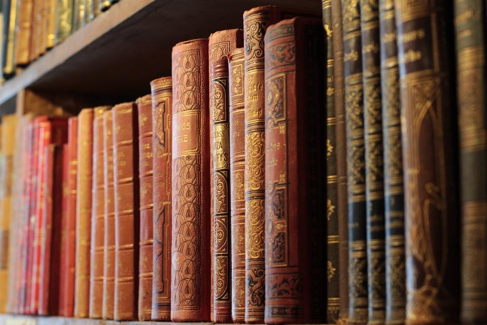 Books, Antiquariat, Tübingen, Old, Read