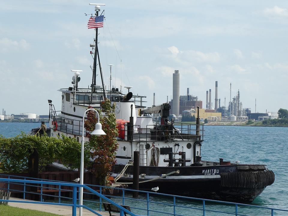 Tug Boat, Manitou, Detroit River