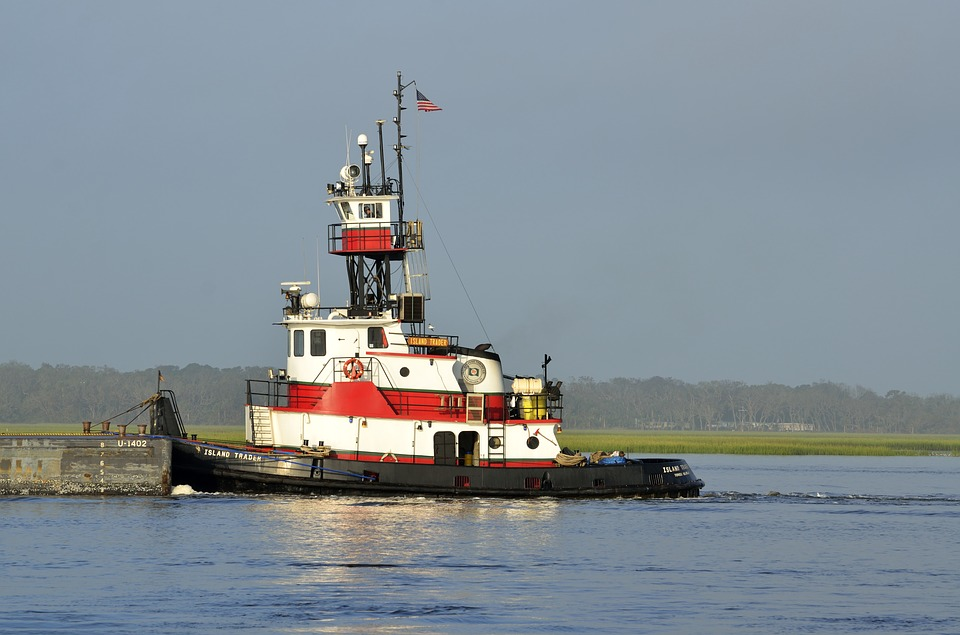 Tug Boat, Barge, Towing, Boat, Tug, Cargo, Water