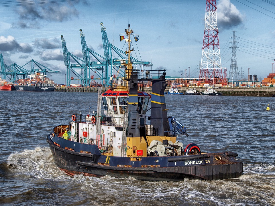 Boat, Bay, Harbor, Tug, Tugboat, Port, Water, Sea