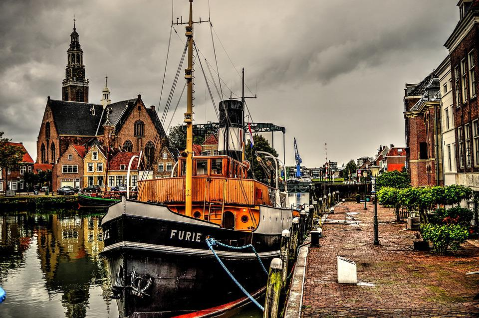 Tugboat, Boat, Maassluis, Fury, Hollands Glorie