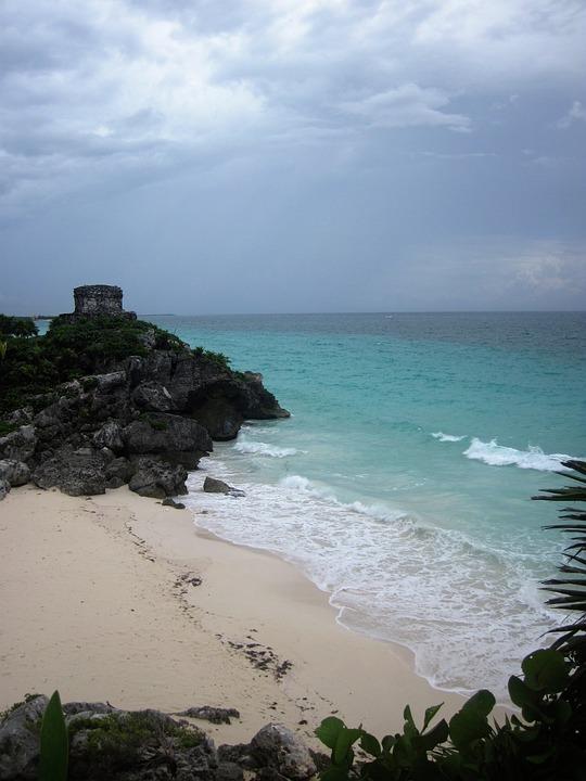 Tulum, Mexico, Yucatan, Travel, Maya, Tropical, Temple