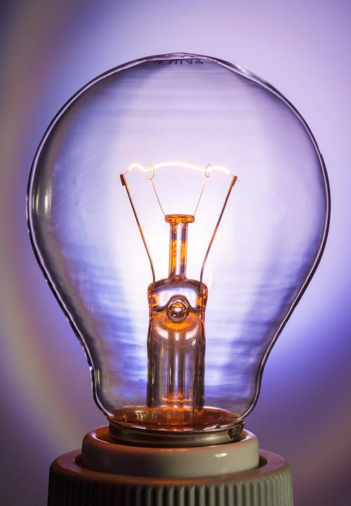 Light Bulb, Glow Lamp, Immediately, Tungsten
