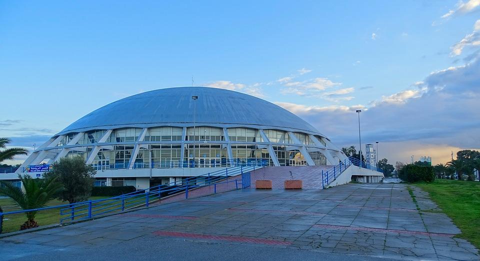 Tunis, Tunisia, Elmanzah, Dome, Sport Palaces