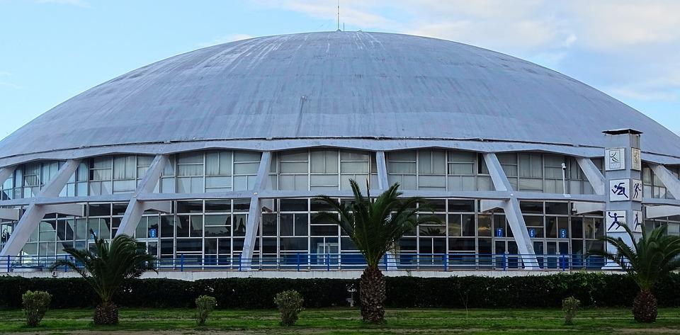 Dome, Elmanzah, Tunis, Tunisia, Sport Palaces