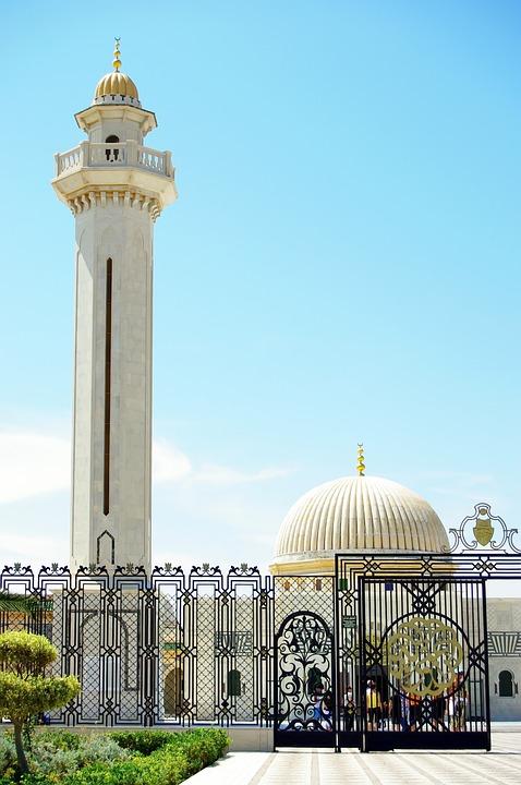 Tunisia, Monastir, Mausoleum, Bourghiba, Monument