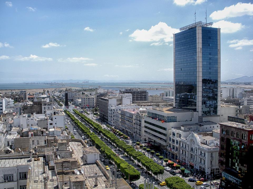 Tunis, Tunisia, Cityscape, City, Skyscraper, Buildings