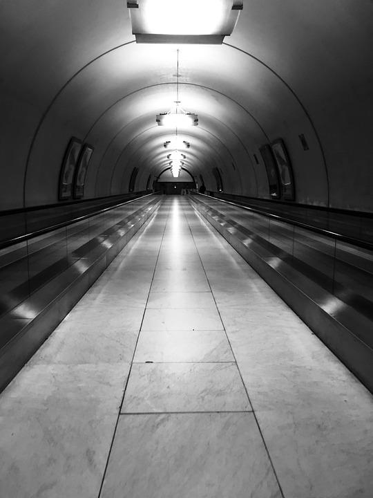 Tunnel, Metro, Transport, Corridor