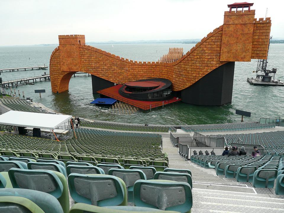 Festive Games Of Bregenz, Turandot Stage