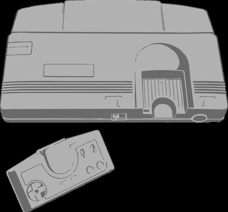 Turbographx-16, Turbographx, Console, Retro, Gaming