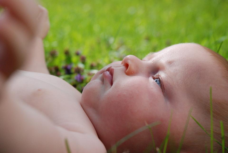 Baby, Turf, Child