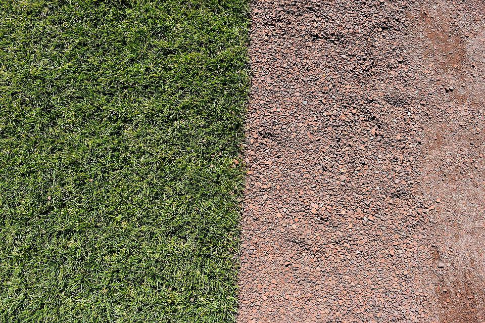 Baseball, Turf, Field, Grass, Summer, Green