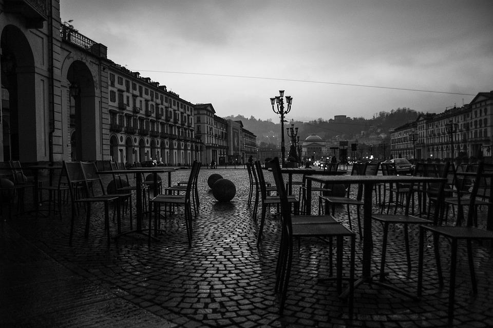 Italy, Turin, Piazza, Vittorino, Veneto
