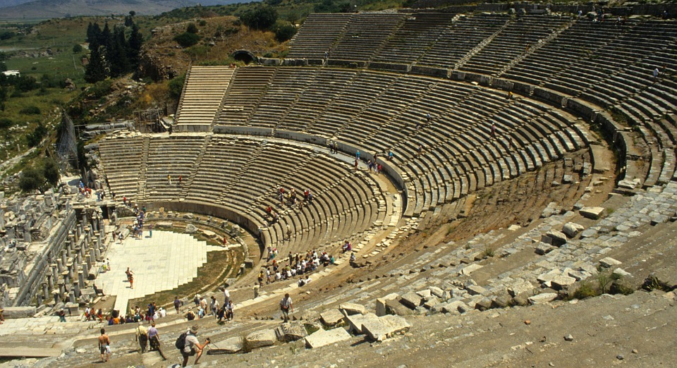 Theater, Turkey, Roman, Antique