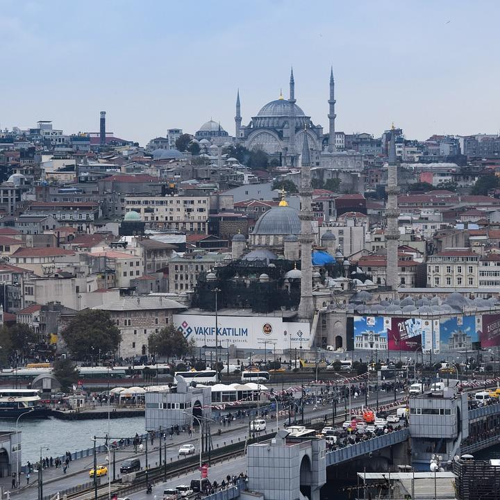 Turkey, Istanbul, Architecture, Background, Building