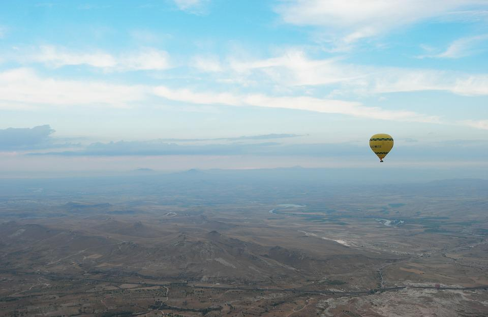 Turkey, Cappadocia, Hot Air Balloon