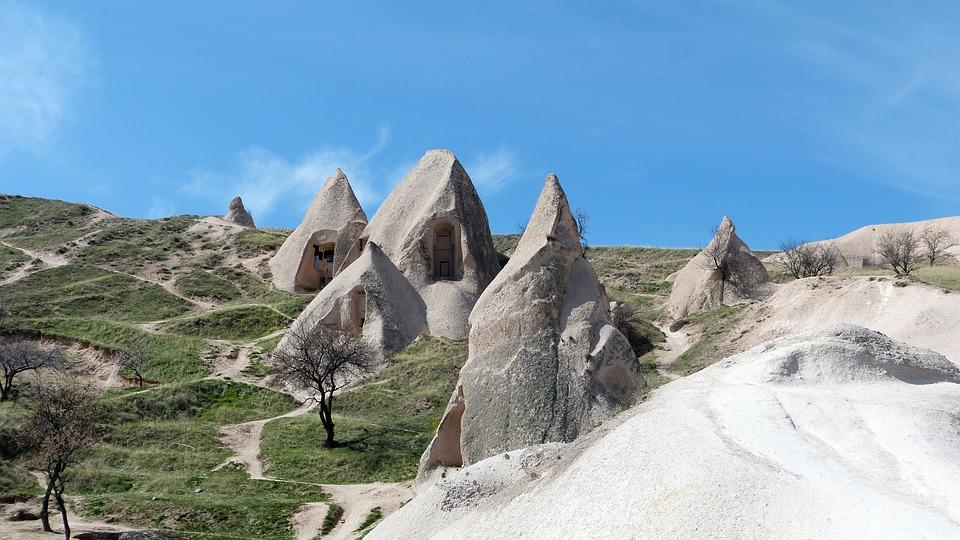 Nature, Mountain, Travel, Turkey, Cappadocia
